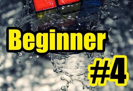 วิธีการเล่นรูบิคแบบ Beginner #4