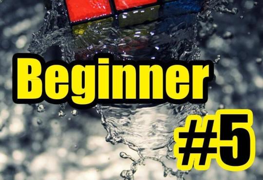 วิธีการเล่นรูบิคแบบ Beginner #5