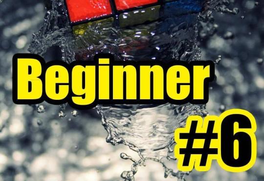 วิธีการเล่นรูบิคแบบ Beginner #6