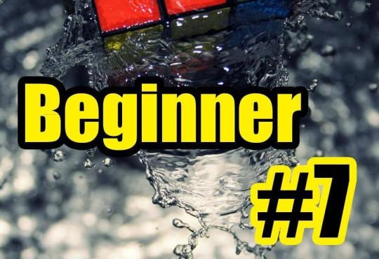 วิธีการเล่นรูบิคแบบ Beginner #7