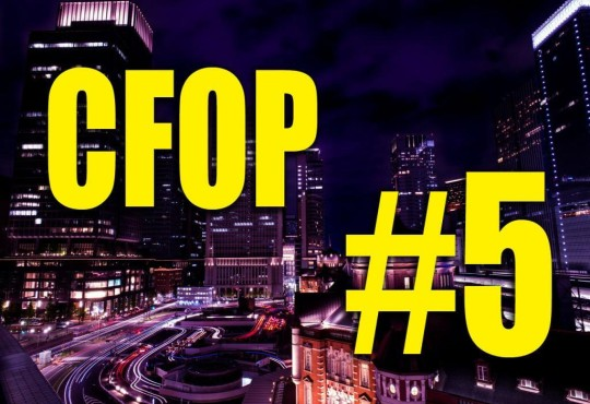 วิธีการเล่นรูบิคแบบ CFOP #5