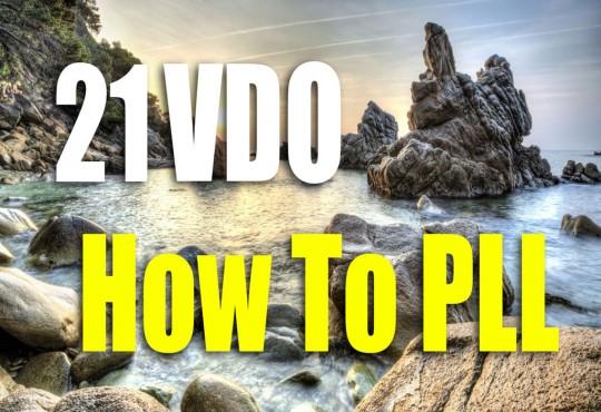 VDO สอนวิธีการทำ PLL 21 กรณี